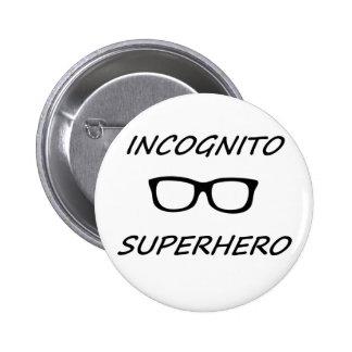 Incognito Superhero 01B 2 Inch Round Button