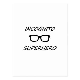 Incognito Superhero 01B Postcards