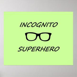 Incognito Superhero 01B Print