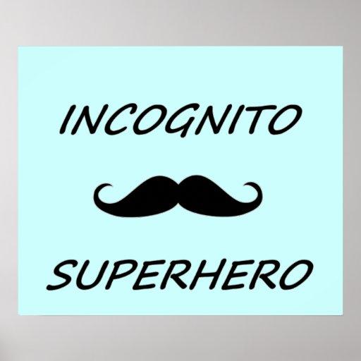 Incognito Superhero 02B Posters