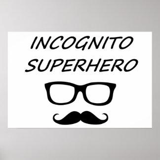 Incognito Superhero 02B Print