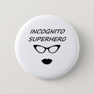 Incognito Superhero 03B 2 Inch Round Button