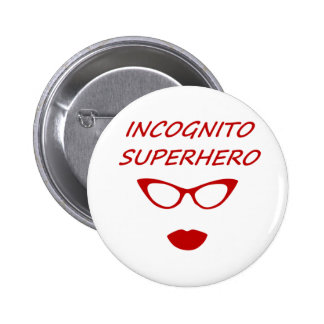 Incognito Superhero 03R 2 Inch Round Button