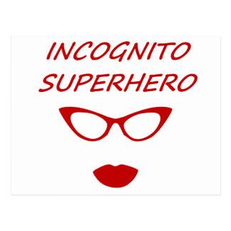 Incognito Superhero 03R Postcard