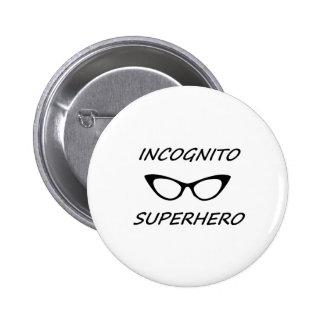 Incognito Superhero 05B Pinback Buttons