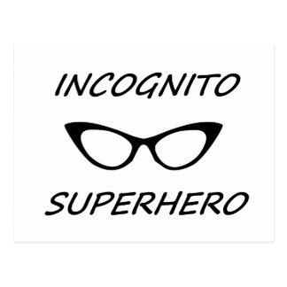 Incognito Superhero 05B Postcards