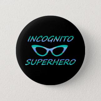 Incognito Superhero 2 Inch Round Button