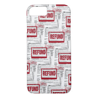 income tax refund stamp iPhone 8/7 case