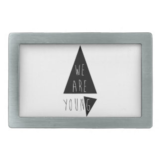 Incoming goods of acres Young Rectangular Belt Buckles