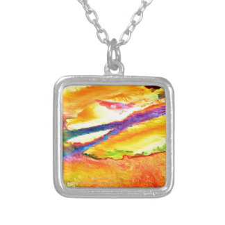 Incoming Tide Silver Plated Necklace