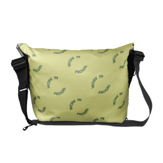 Incomplete Work In Progress Messenger Bag