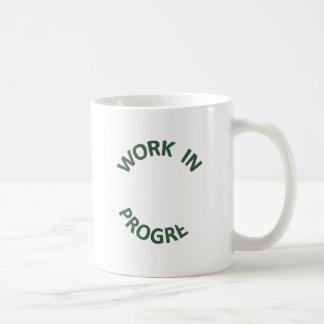 Incomplete Work in Progress Mugs