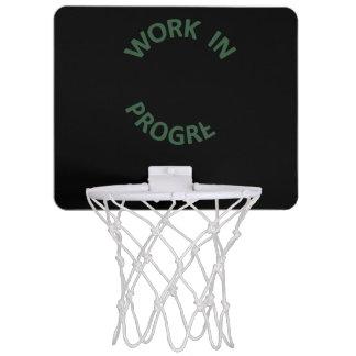 Incomplete Work in Progress Mini Basketball Hoop