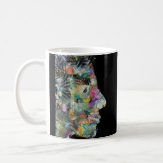 Incredible Abstract Face by LH Coffee Mug