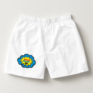 Incredible Awesome Dad Boxer Shorts Boxers