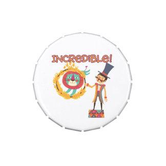 Incredible Circus Candy Tin