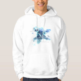 Incredible Dolphins Typography Hoodie