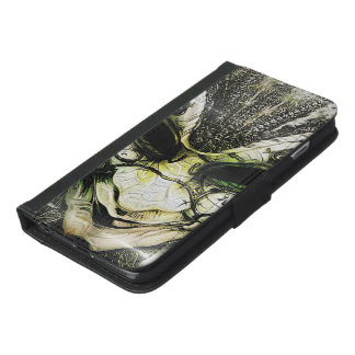 Incredible Fractal Deep Dreams of a Venetian Mask iPhone 6/6s Plus Wallet Case