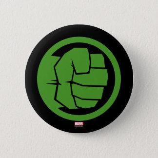 Incredible Hulk Logo 2 Inch Round Button