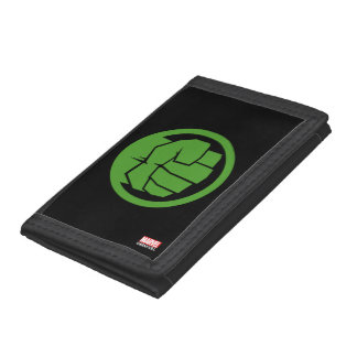 Incredible Hulk Logo Tri-fold Wallets