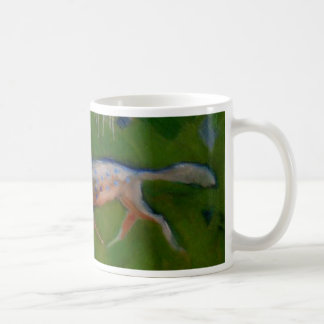 Incredibly Rare Blue Spotted Fox Coffee Mug