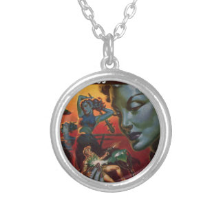 Incubi of Paralell X Silver Plated Necklace
