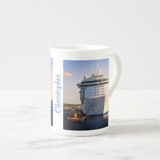 Independence at Cozumel Personalized Tea Cup