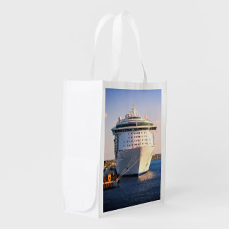 Independence at Cozumel Reusable Grocery Bag