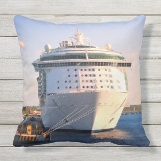 Independence at Cozumel Throw Pillow