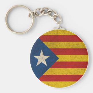 Independence Catalonia Lliure Estelada Keychain