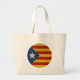 Independence Catalonia Lliure Estelada Large Tote Bag