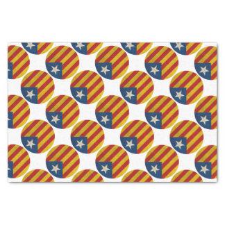 Independence Catalonia Lliure Estelada Tissue Paper