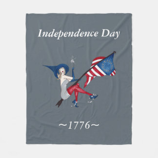 Independence Day 1776 Blanket