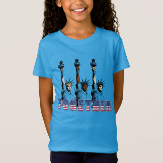 Independence Day 4th July Statue Liberty Patriotic T-Shirt