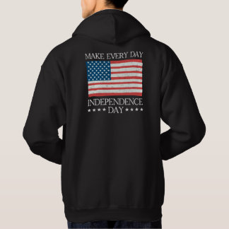 Independence Day 4th of July Retro Style Hoodie