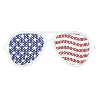 Independence Day- American Day- Patriotism Aviator Sunglasses