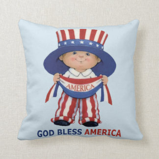 """Independence Day"""" Beautiful Square Pillow..."""" Throw Pillow"""