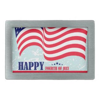 Independence-Day Belt Buckles