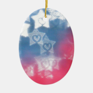 Independence Day Ceramic Ornament