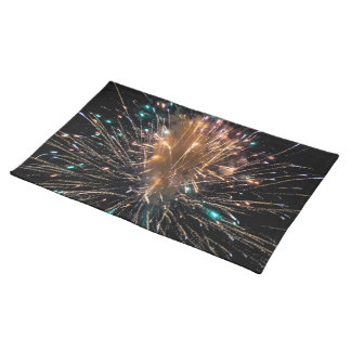 Independence Day Fireworks Starburst Placemat