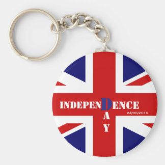 Independence Day for United Kingdom Keychain