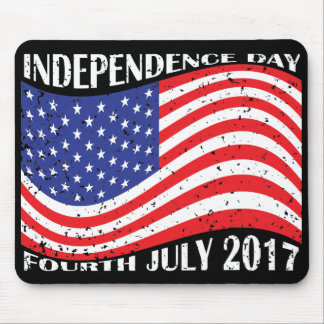 Independence Day & Fourth July 2017 Mouse Pad