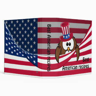 Independence Day owl Binders