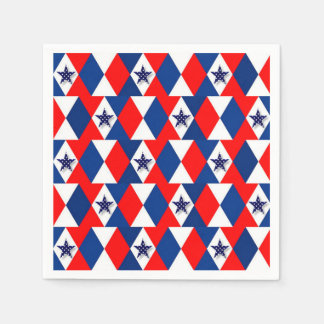 Independence Day Paper Napkin