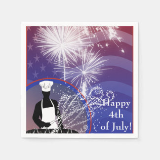 Independence Day Paper Napkins