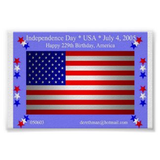 Independence Day (print) Poster