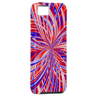 Independence Day Red White & Blue Patriotic Fourth iPhone 5 Case