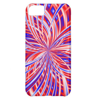 Independence Day Red White & Blue Patriotic Fourth iPhone 5C Cases