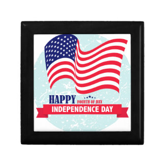 Independence-Day Trinket Boxes