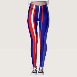 INDEPENDENCE DAY - WOMEN LEGGINGS - VERTICAL STRIP